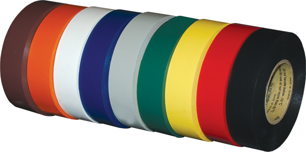 Vinyl Electrical Tapes Cold Weather Flame Retardant