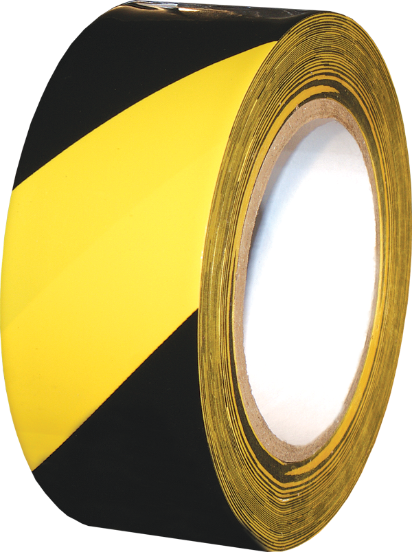 laminated safety striped PVC tape