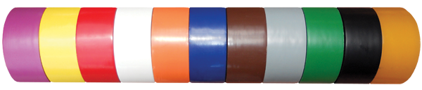 Colored Floor Tape Pvc Marking Tape Solid Color