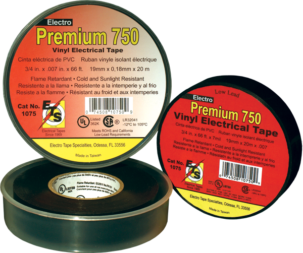 7 mil premium grade electrical tape