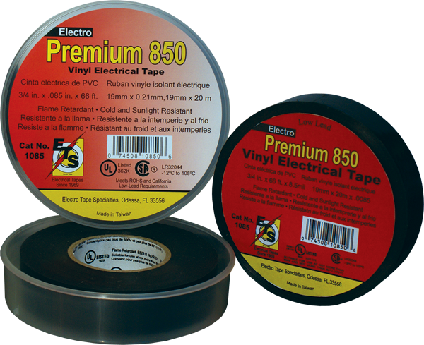 8 mil premium grade electrical tape