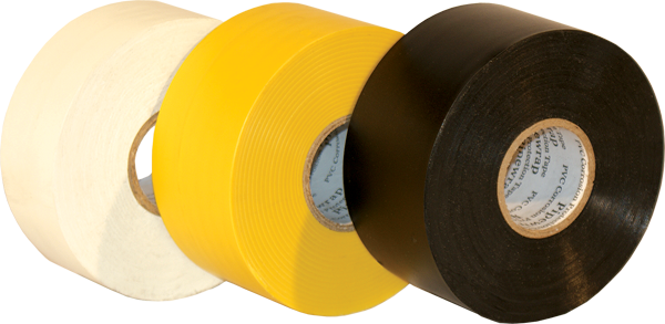 polyvinyl chloride pipe wrap tape