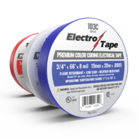 Premium Color Coding Electrical Tape - 103C Series - 7 mil