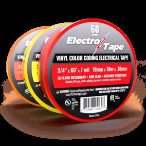 Vinyl Color Coding Phasing Electrical Tape Bulk Wholesale
