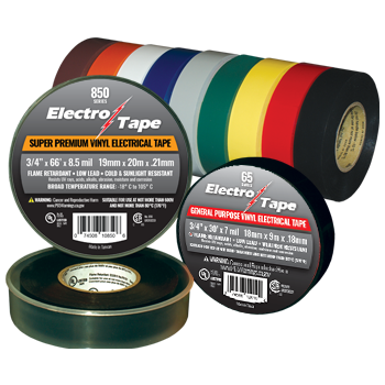 PVC Vinyl Electrical Tapes