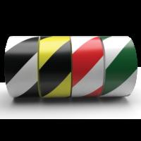 Safety Striped PVC Hazard Marking Tape - 141 Series