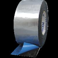 FOILASTIC Aluminum Foil Tape - Butyl Rubber Mastic - Poly Liner