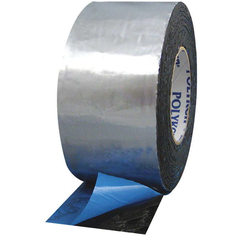 FOILASTIC Aluminum Foil Tape Butyl Rubber Mastic - Poly Liner Bulk Wholesale Distribution