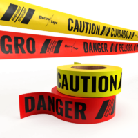 Reinforced Caution & Danger Tape - 867 Series