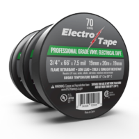 Professional Grade Electrical Tape - 70 Series - 7.5 mil