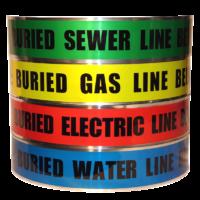 Underground Detectable Tape - PE w/Foil Laminate - 845 Series