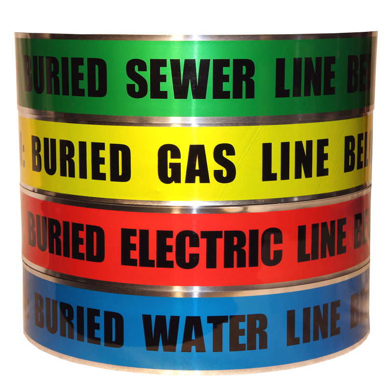 Underground Detectable Sewer Electric Gas Water Line Bulk Wholesale