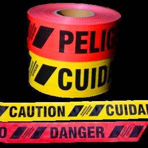 Reinforced 10 mil Caution Danger Heavy Duty Tape Bulk Wholesale