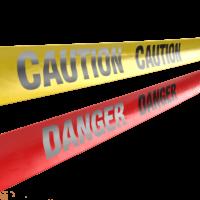 Reflective Caution & Danger Tape - 869 Series