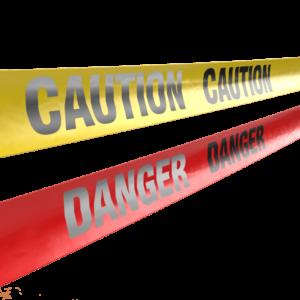 Reflective Caution Danger Tape Bulk Wholesale