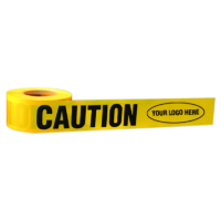 Custom Logo Branded Caution Tape - 865 Series