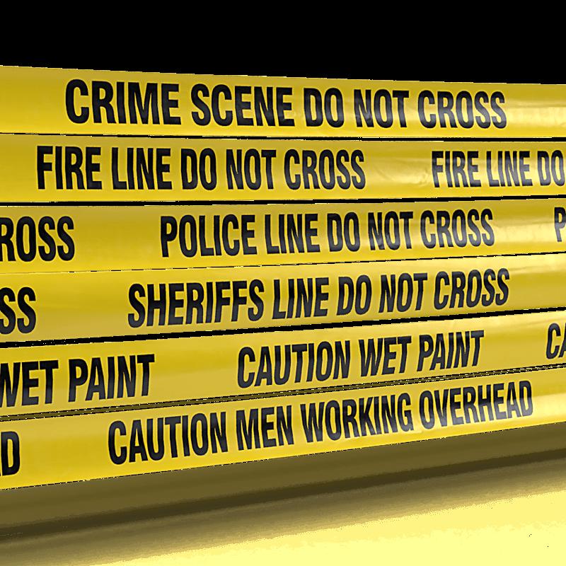 Caution Danger Tape Specialty Legends Bulk Wholesale